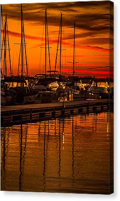 Colorful Lake Norman Sunset Canvas Print