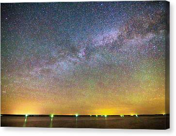Colorful Milky Way Night Canvas Print by James BO  Insogna