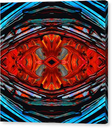 Colorful Modern Art - Desire's Call - By Sharon Cummings Canvas Print by Sharon Cummings