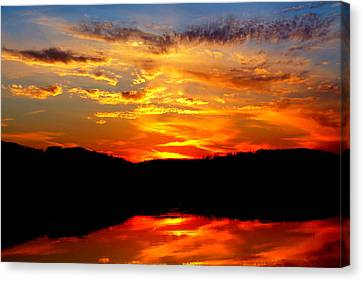 Colorful Nature Canvas Print by Jose Lopez