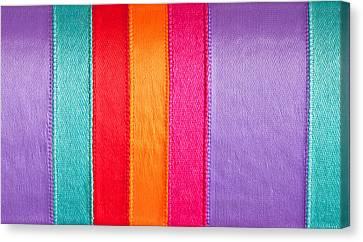 Colorful Nylon Canvas Print by Tom Gowanlock