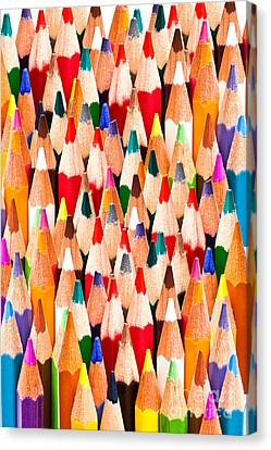 Colorful Pencils Canvas Print by IB Photo
