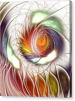 Colorful Promenade Canvas Print by Anastasiya Malakhova