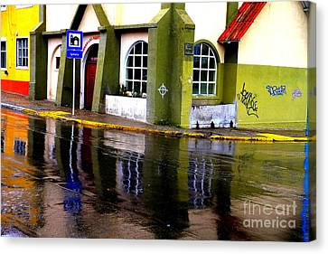 Colorful Reflection Canvas Print