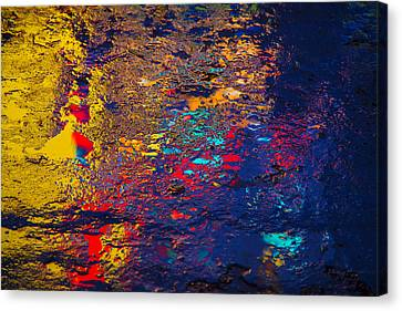 Colorful Reflections Canvas Print by Garry Gay