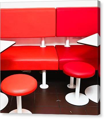 Colorful Seats Canvas Print