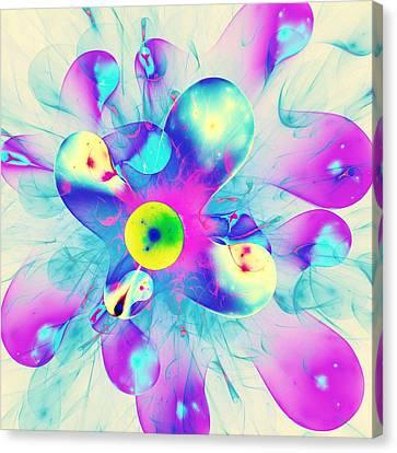 Colorful Splash Canvas Print