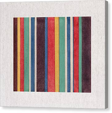 Colorful Stripes Canvas Print