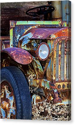 Colorful Vintage Car Canvas Print