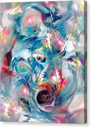 Colorful Water Canvas Print by Anastasiya Malakhova