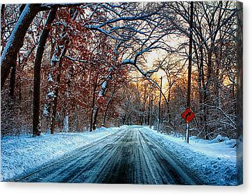Colorful Winter Canvas Print by Jerome Lynch