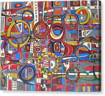Coloroso # 18--sold Canvas Print