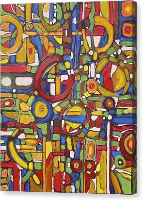 Coloroso # 5 Canvas Print