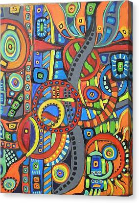 Coloroso #21 Canvas Print