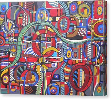 Coloroso #23--sold Canvas Print