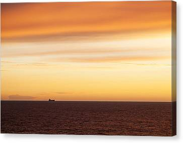 Before The Sunrise Canvas Print
