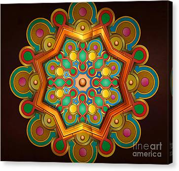 Colors Burst Canvas Print by Bedros Awak