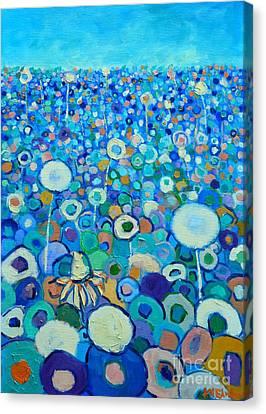 Colors Field In My Dream Canvas Print by Ana Maria Edulescu