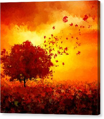 Impressionism Canvas Print - Colors Hymn by Lourry Legarde