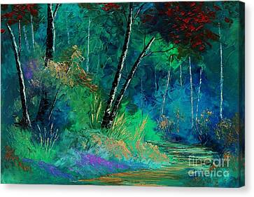 Colors Of A Dream Canvas Print by Steven Lebron Langston