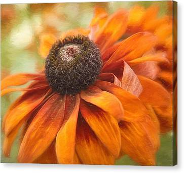 Beautiful Autumn Day Canvas Print - Colors Of Autumn by Kim Hojnacki