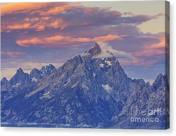 Air Travel Canvas Print - Colors Of Dawn by Mark Kiver
