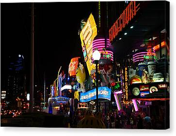Colors Of Las Vegas Canvas Print