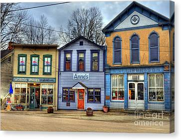 Colors Of Metamora 2 Canvas Print by Mel Steinhauer