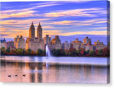 Colors Of New York Canvas Print by Midori Chan