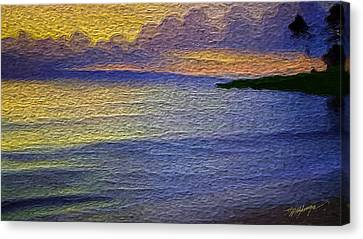 Colors Of Paradise Canvas Print by Anthony Fishburne