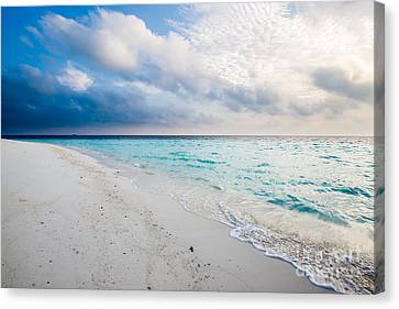 Colors Of Paradise Canvas Print by Hannes Cmarits