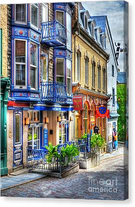 Colors Of Quebec 15 Canvas Print by Mel Steinhauer