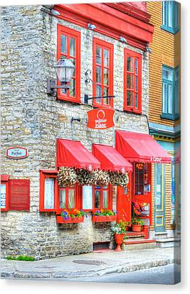 Colors Of Quebec 16 Canvas Print by Mel Steinhauer