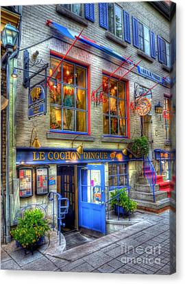 Colors Of Quebec 3 Canvas Print by Mel Steinhauer