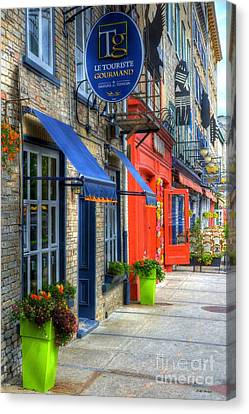 Colors Of Quebec Canvas Print by Mel Steinhauer
