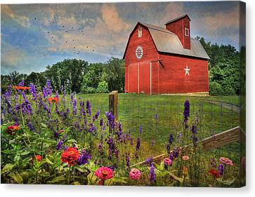 Colors Of Summer Canvas Print by Lori Deiter