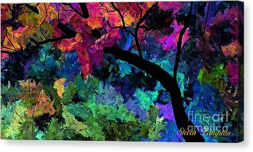 Colors Of The Dream Canvas Print by Steven Lebron Langston