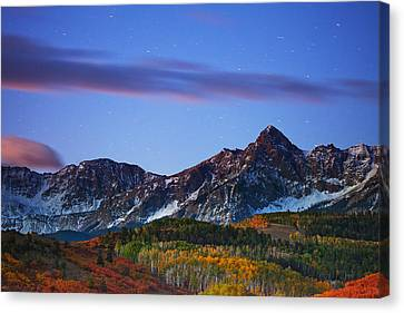 Colors Of The Night Canvas Print by Darren  White