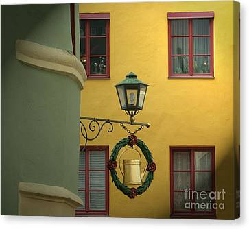 Colors Of Time 02 Canvas Print by Edmund Nagele