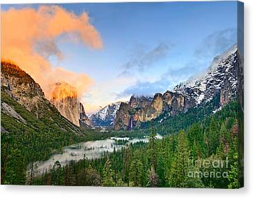 Colors Of Yosemite Canvas Print by Jamie Pham