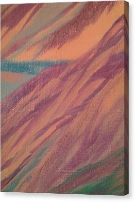 Colorscape 3 Canvas Print by Erica  Darknell