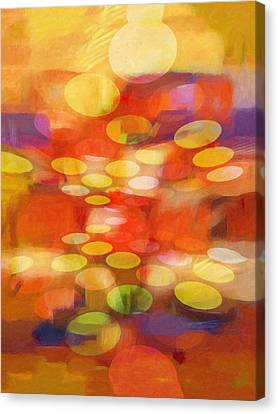 Sphere Canvas Print - Colorspheres by Lutz Baar