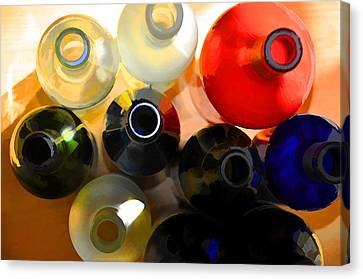 Colorsplash Canvas Print by Jan Amiss Photography