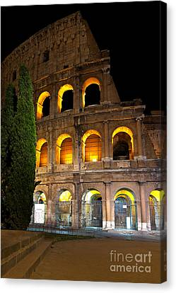 Colosseum Canvas Print by Francesco Emanuele Carucci