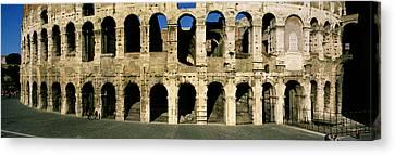 Colosseum Rome Italy Canvas Print