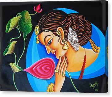 Colour And Creativity Canvas Print