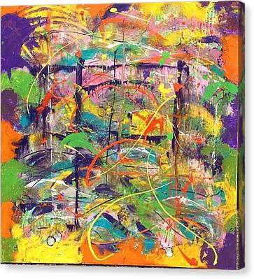 Colour Bazaar Canvas Print by Judi Goodwin