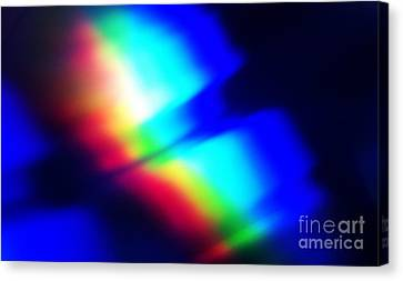 Coloured Light Canvas Print by Martin Howard