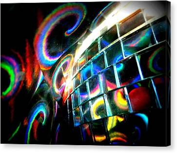 Colourful Reflections Canvas Print by Mlle Marquee