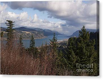 Canvas Print featuring the photograph Columbia Gorge by Belinda Greb